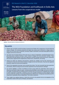 Research in Brief: The IKEA Foundation and Livelihoods in Dollo Ado: Lessons from the Cooperatives Model  Cover Image