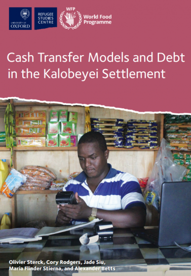 Cash Transfer Models and Debt in the Kalobeyei Settlement Cover Image