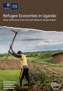 Refugee Economies in Uganda: What Difference Does the Self-Reliance Model Make? Cover Image