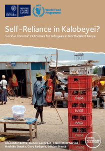 Self-Reliance in Kalobeyei? Socio-Economic Outcomes for Refugees in North-West Kenya Cover Image